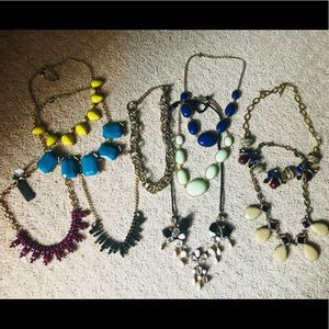 Collection of Jcrew necklaces